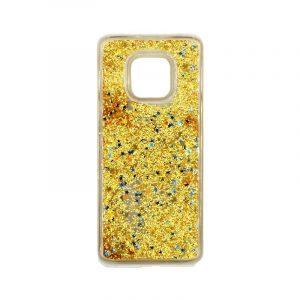Θήκη Huawei Mate 20 Pro Liquid Glitter κίτρινο 1