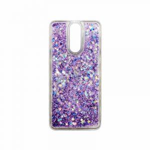 Θήκη Huawei Mate 10 Lite Liquid Glitter μωβ 1
