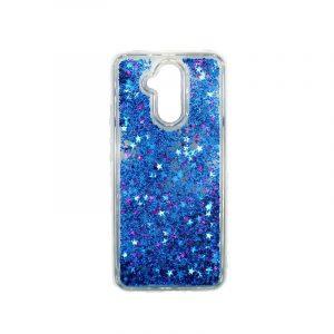 Θήκη Huawei Mate 20 Lite Liquid Glitter μπλε 1