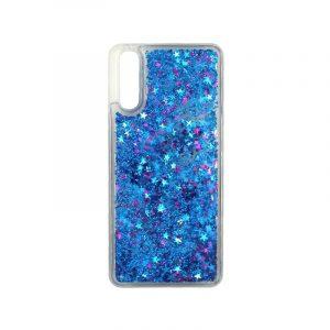Θήκη Huawei P20 Liquid Glitter μπλε 1