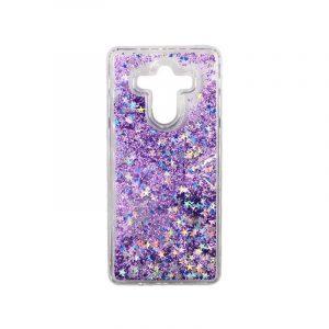 Θήκη Huawei Mate 10 Pro Liquid Glitter μωβ 1