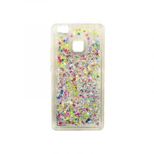 Θήκη Huawei P9 Lite Liquid Glitter πολύχρωμο 1