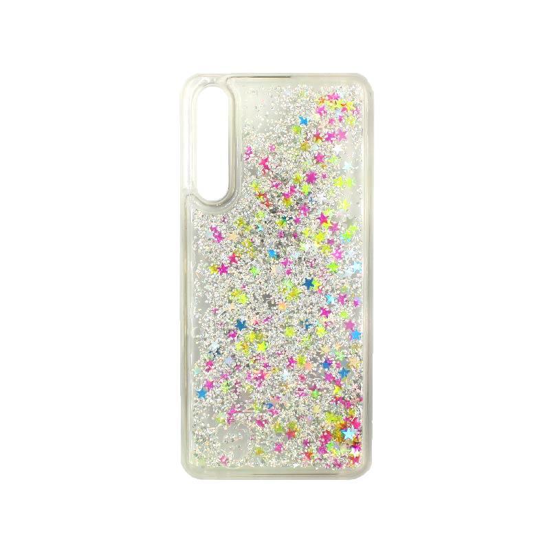 Θήκη Huawei P20 Pro Liquid Glitter πολύχρωμο 1