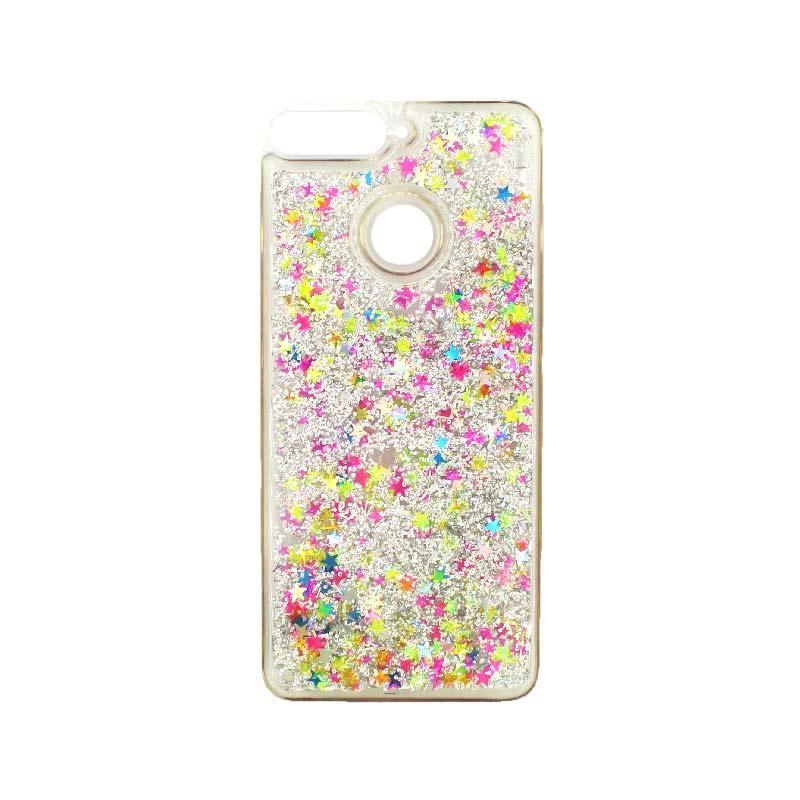 Θήκη Huawei Y6 2018 Liquid Glitter πολύχρωμο 1