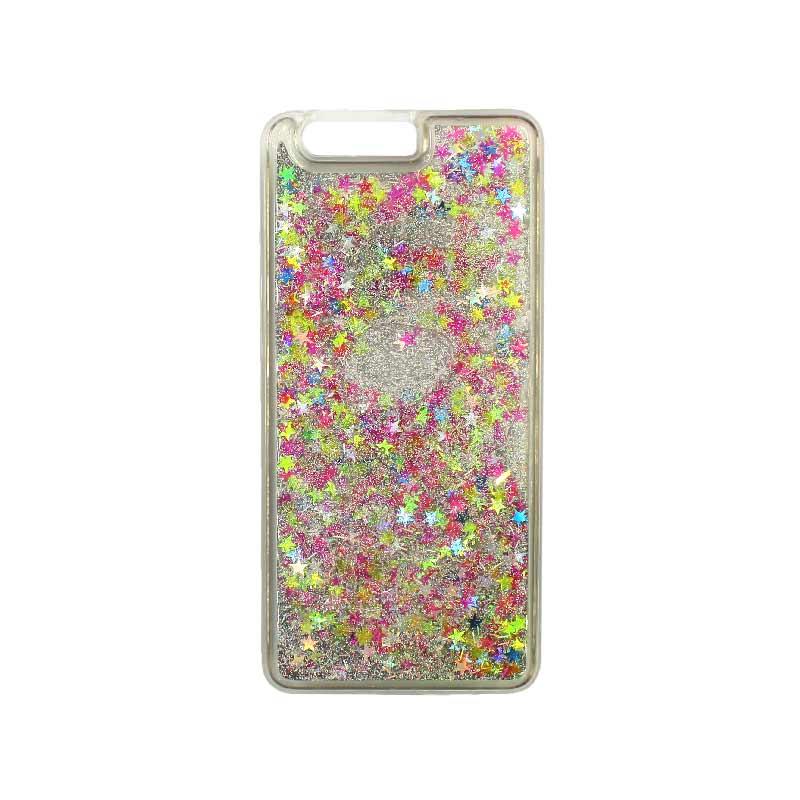 Θήκη Huawei P10 Plus Liquid Glitter πολύχρωμο 1
