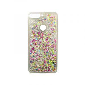 Θήκη Huawei Y7 2018 Liquid Glitter πολύχρωμο 1