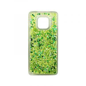 Θήκη Huawei Mate 20 Pro Liquid Glitter πράσινο 1