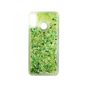 Θήκη Huawei P20 Lite Liquid Glitter πράσινο 1