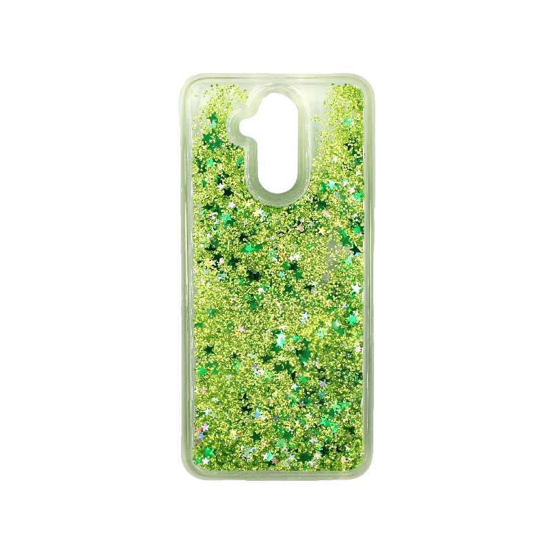 Θήκη Huawei Mate 20 Lite Liquid Glitter πράσινο 1