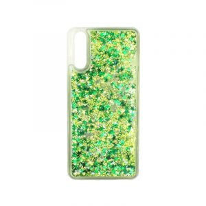 Θήκη Huawei P20 Liquid Glitter πράσινο 1