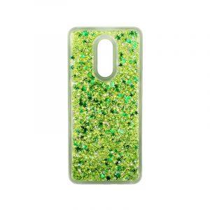 Θήκη Xiaomi Redmi 5 Plus Liquid Glitter πράσινο 1