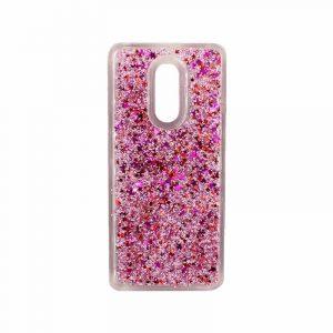 Θήκη Xiaomi Redmi 5 Plus Liquid Glitter ροζ 1