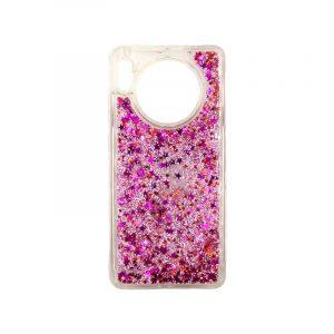Θήκη Huawei Mate 30 Liquid Glitter ροζ 1