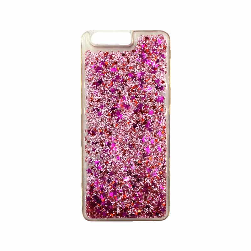 Θήκη Huawei P10 Liquid Glitter ροζ 1