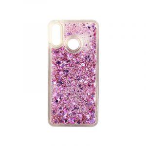 Θήκη Huawei P20 Lite Liquid Glitter ροζ 1
