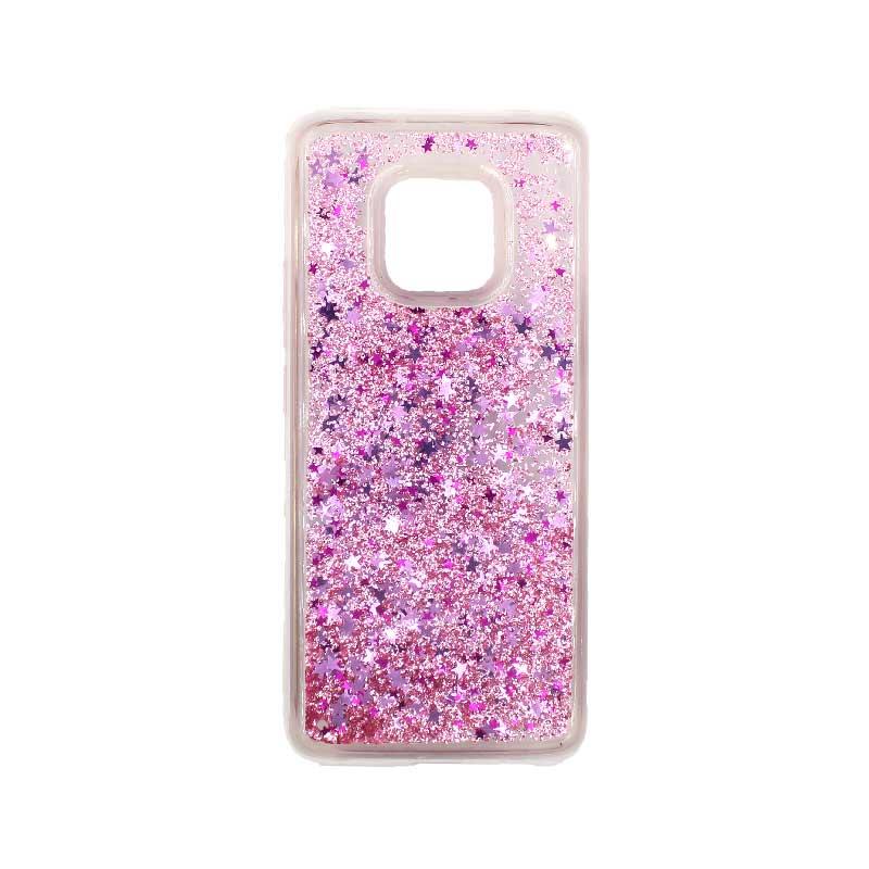 Θήκη Huawei Mate 20 Pro Liquid Glitter ροζ 1