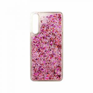 Θήκη Huawei P20 Pro Liquid Glitter ροζ 1