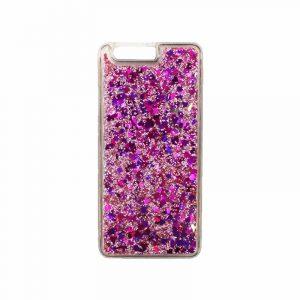 Θήκη Huawei P10 Plus Liquid Glitter ροζ 1