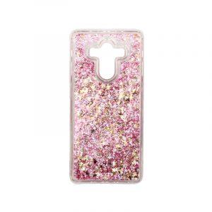Θήκη Huawei Mate 10 Pro Liquid Glitter ροζ χρυσό 1