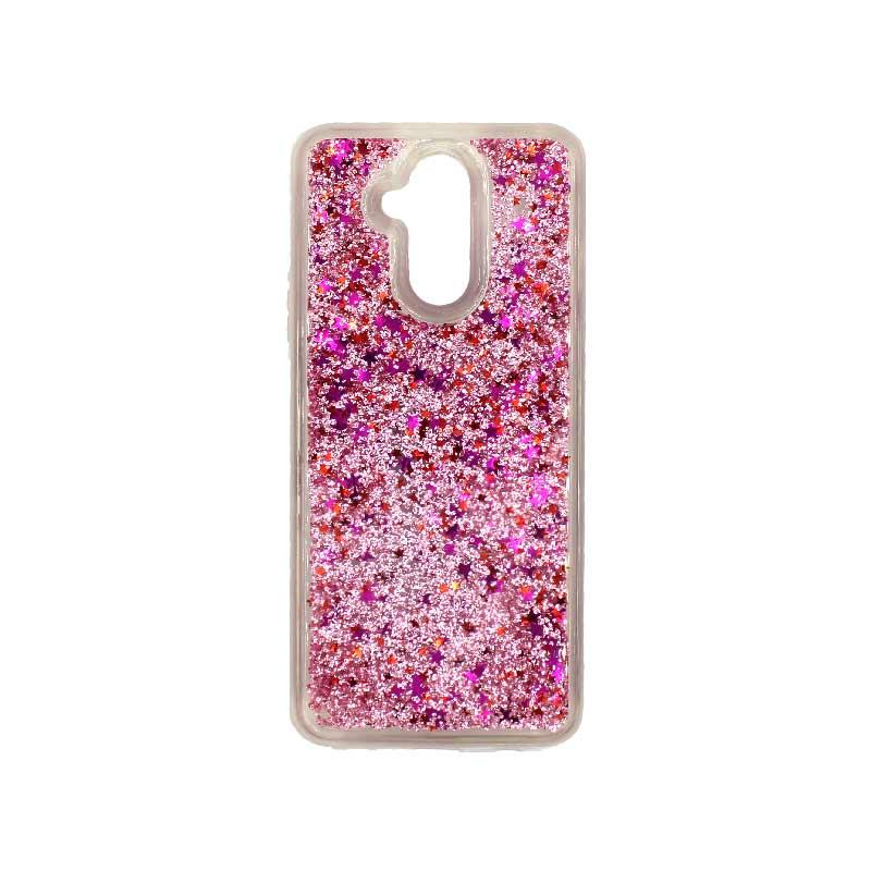 Θήκη Huawei Mate 20 Lite Liquid Glitter ροζ 1