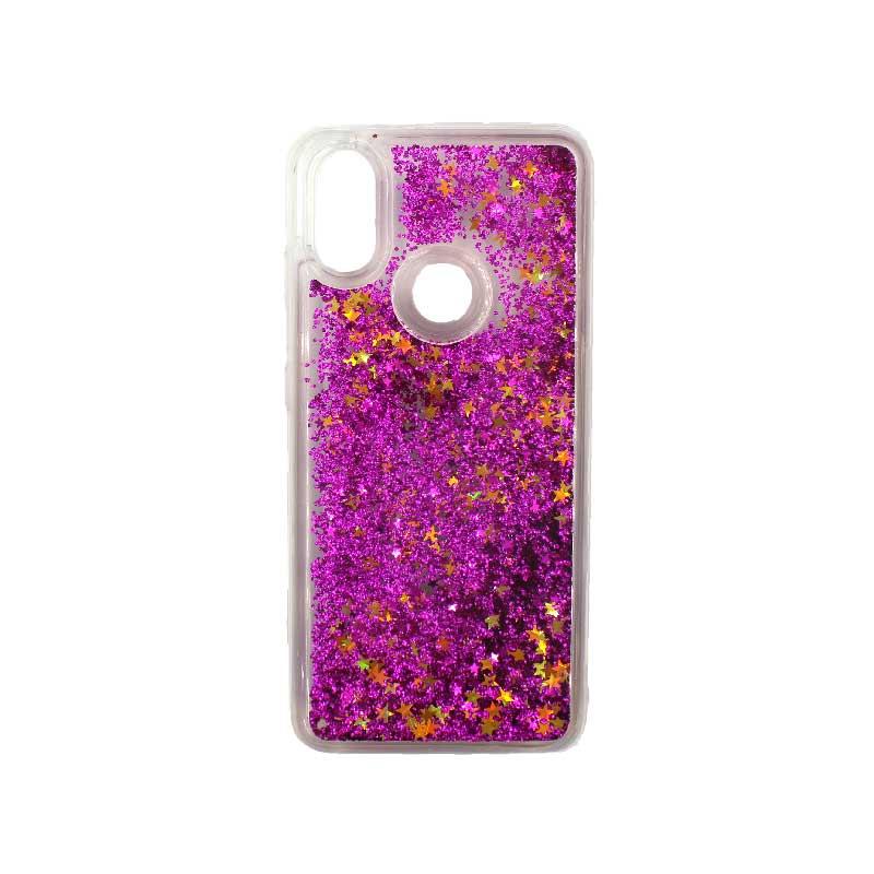 Θήκη Xiaomi Redmi S2 Liquid Glitter φουξ 1