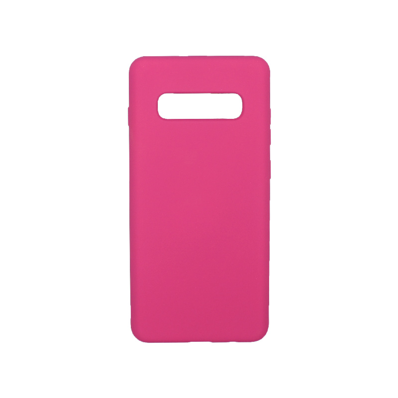 Θήκη Samsung Galaxy S10 Plus Silky and Soft Touch Silicone φουξ 1