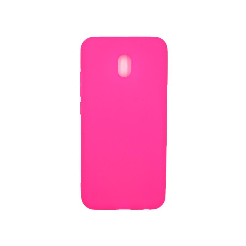 Θήκη Xiaomi Redmi 8A Σιλικόνη φούξια