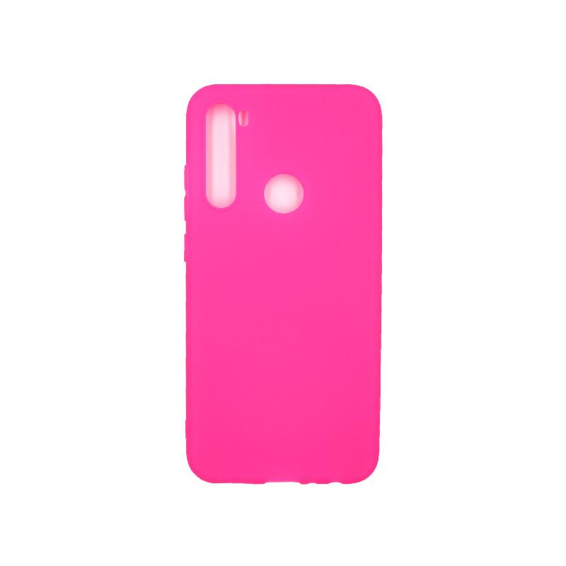 Θήκη Xiaomi Redmi Note 8 Σιλικόνη φουξ