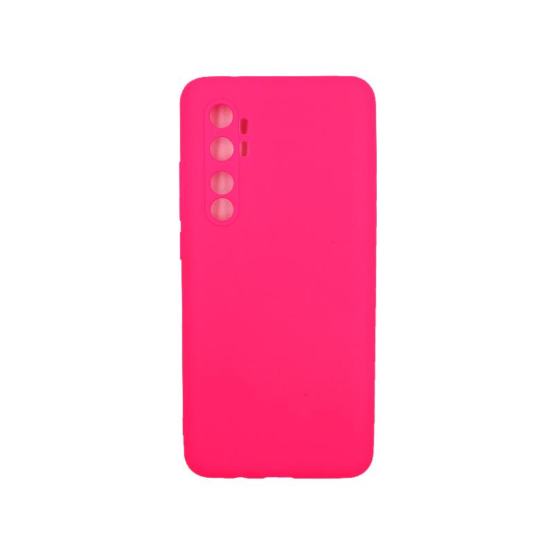 Θήκη Xiaomi Mi Note 10 Lite Σιλικόνη φουξ