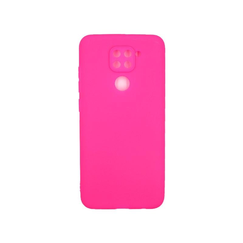 Θήκη Xiaomi Redmi Note 9 Σιλικόνη φουξ