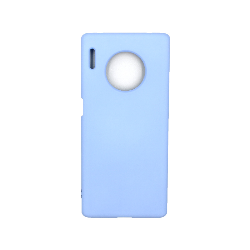 Θήκη Huawei Mate 30 Pro Silky and Soft Touch Silicone γαλάζιο 1