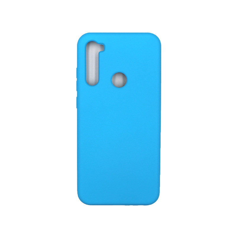 Θήκη Xiaomi Redmi Note 8T Silky and Soft Touch Silicone γαλάζιο 1