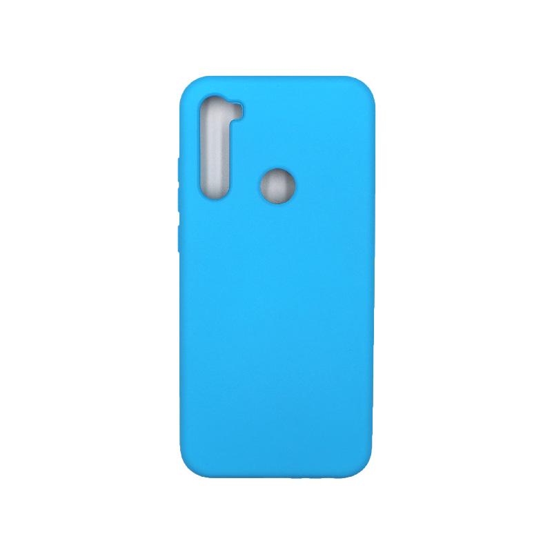 Θήκη Xiaomi Redmi Note 8T Silky and Soft Touch Silicone γαλάζιο 1