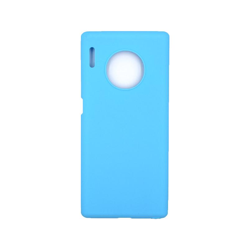 Θήκη Huawei Mate 30 Pro Σιλικόνη γαλάζιο