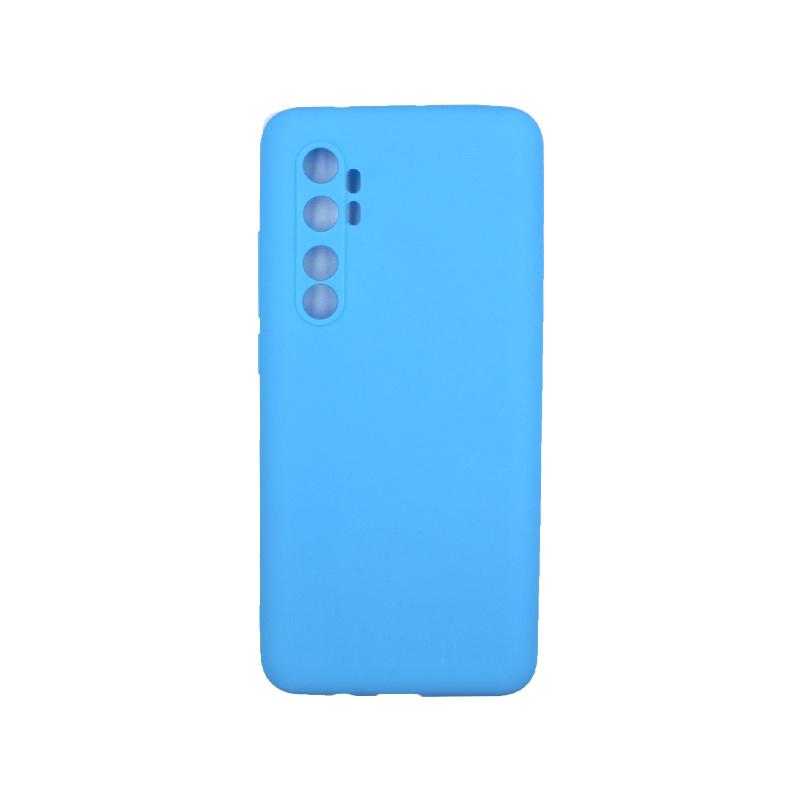 Θήκη Xiaomi Mi Note 10 Lite Σιλικόνη γαλάζιο