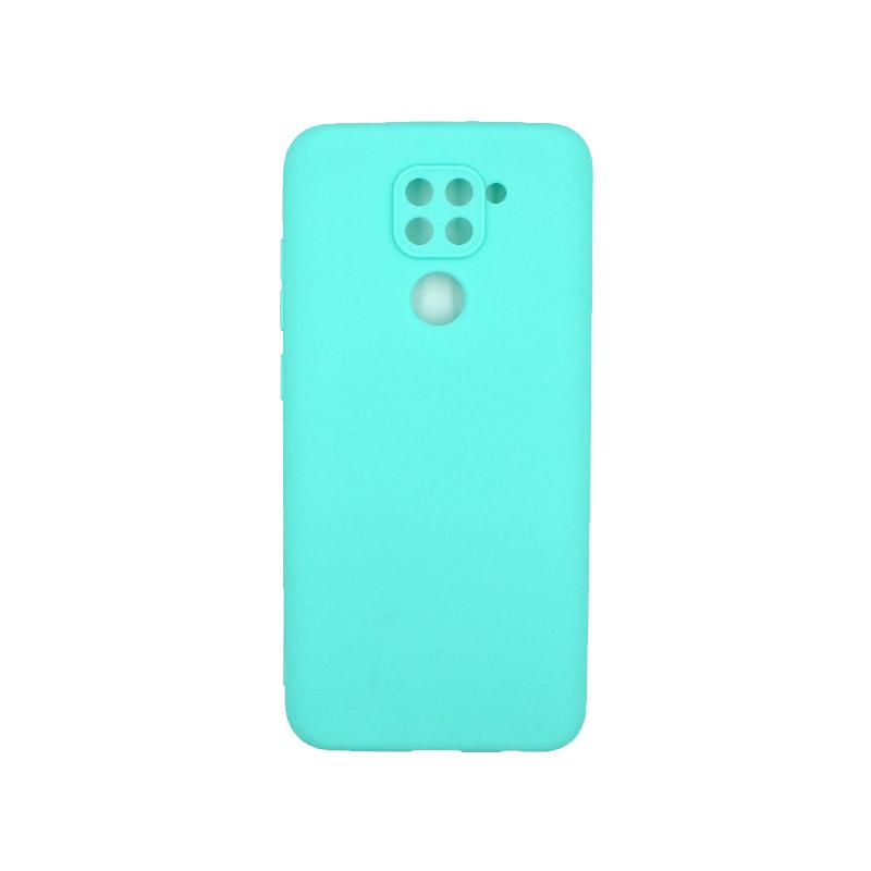 Θήκη Xiaomi Redmi Note 9 Σιλικόνη τιρκουάζ
