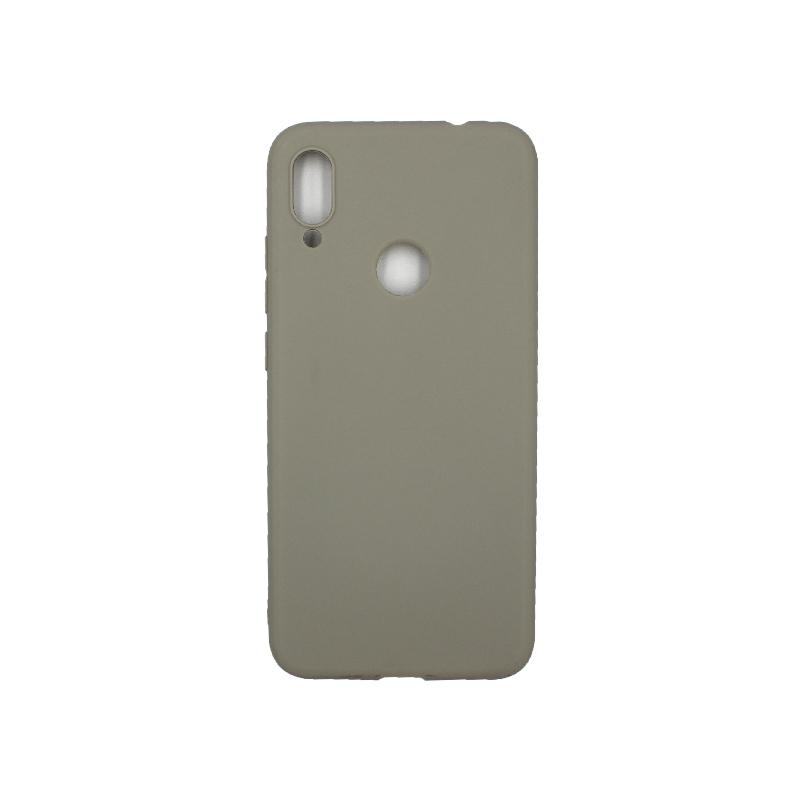 Θήκη Xiaomi Redmi Note 7 / 7 Pro Σιλικόνη γκρι
