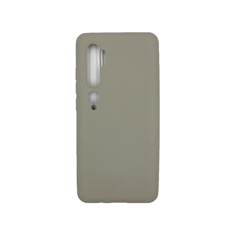Θήκη Xiaomi Mi Note 10 / Note 10 Pro / CC9 Pro Σιλικόνη γκρι