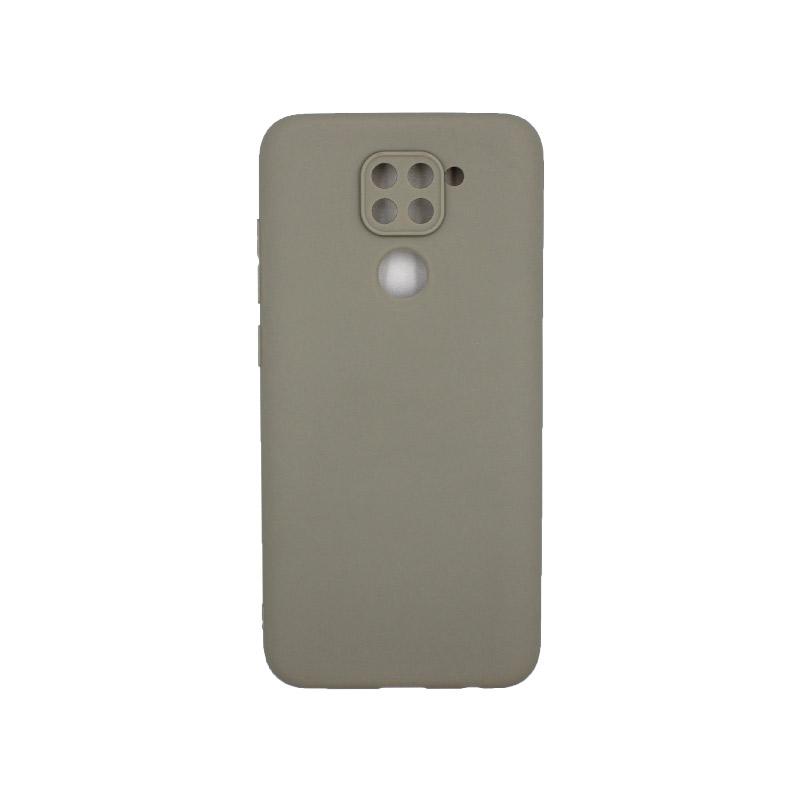 Θήκη Xiaomi Redmi Note 9 Σιλικόνη γκρι