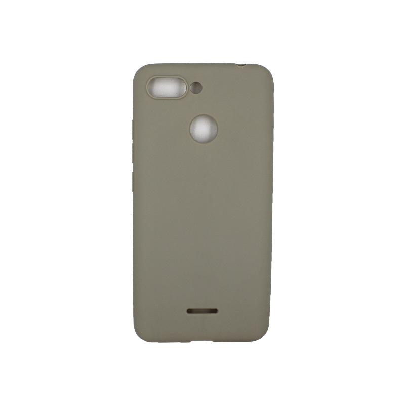 Θήκη Xiaomi Redmi 6 Σιλικόνη γκρι