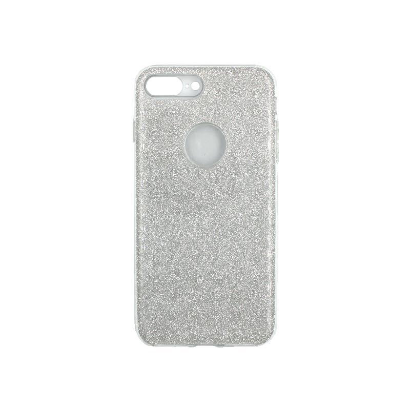 θήκη iphone 7 Plus / 8 Plus glitter γκρι 1