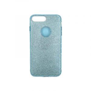 θήκη iphone 7 Plus / 8 Plus glitter γαλάζιο 1