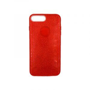 θήκη iphone 7 Plus / 8 Plus glitter κόκκινο 1