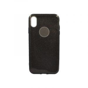 θήκη iphone Xs Max glitter μαύρο