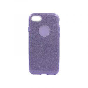 θήκη iphone 7-8 glitter μωβ
