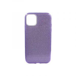 θήκη iphone 11 glitter μωβ