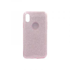 θήκη iphone X / Xs glitter ροζ