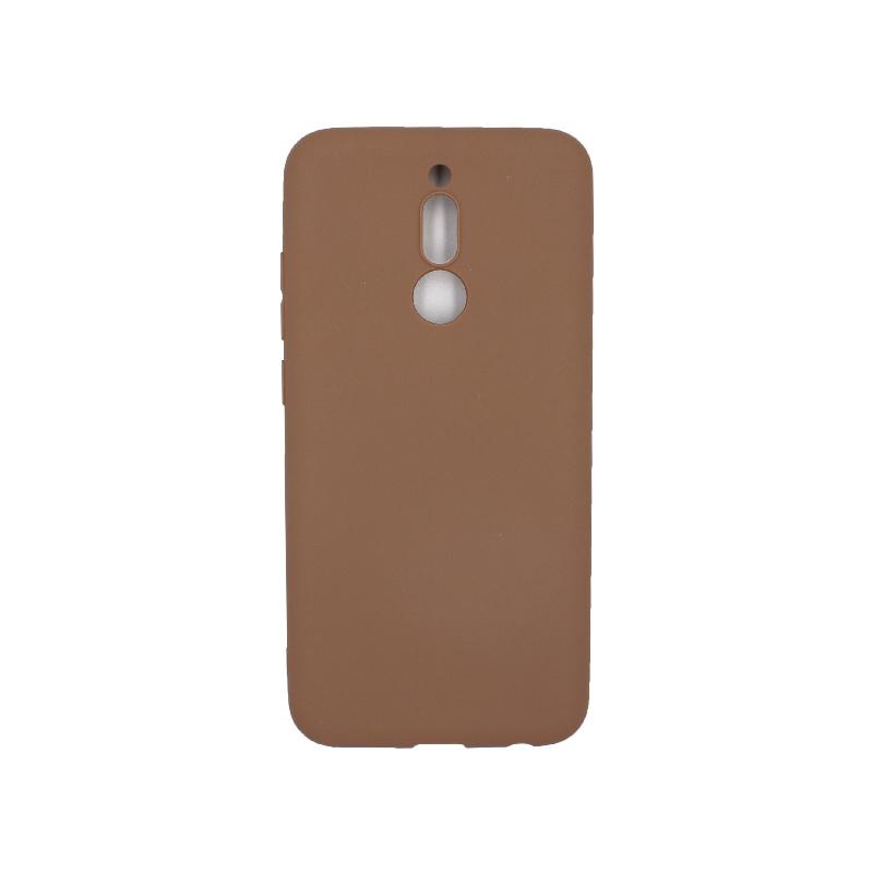 Θήκη Xiaomi Redmi 8 Σιλικόνη καφέ