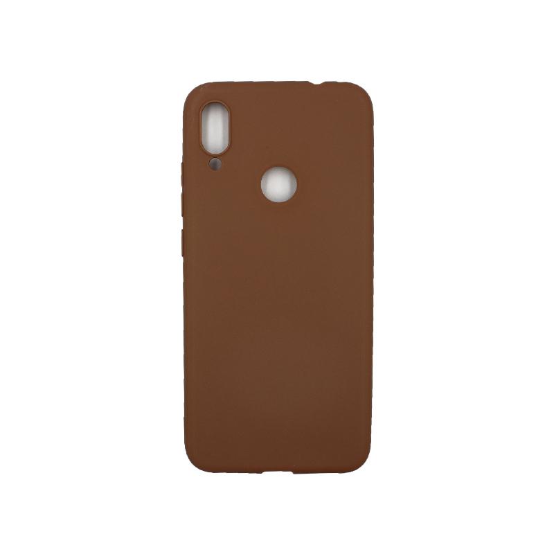Θήκη Xiaomi Redmi Note 7 / 7 Pro Σιλικόνη καφέ
