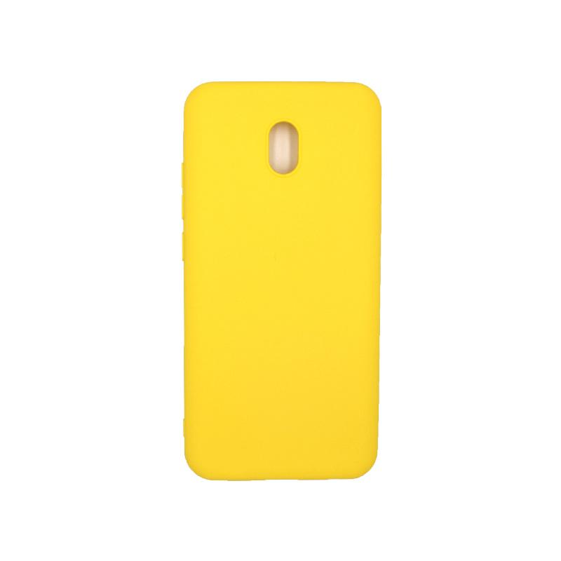 Θήκη Xiaomi Redmi 8A Σιλικόνη κίτρινο